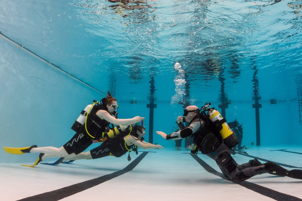 PADI Open Water Pool Training